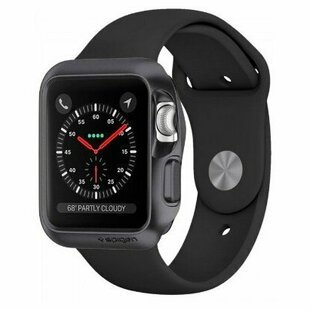 Чехол Spigen Slim Armor для Apple Watch series 1/2/3 42mm